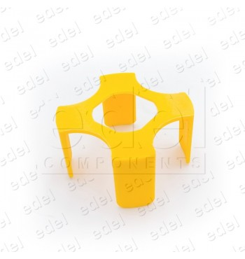 LAY5-EB40E YELLOW PLASTIC COVER FOR STOP PUSH BUTTON