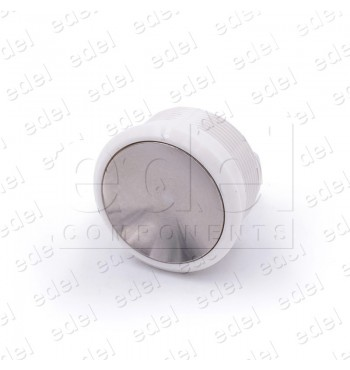 FAA25090AD119 PUSH BUTTON OTIS 2000 RED.RING WHITE GLOSSY W/OUT LIGHT